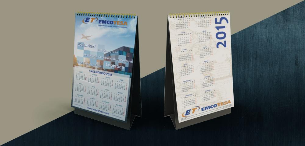Calendario de Emcotesa