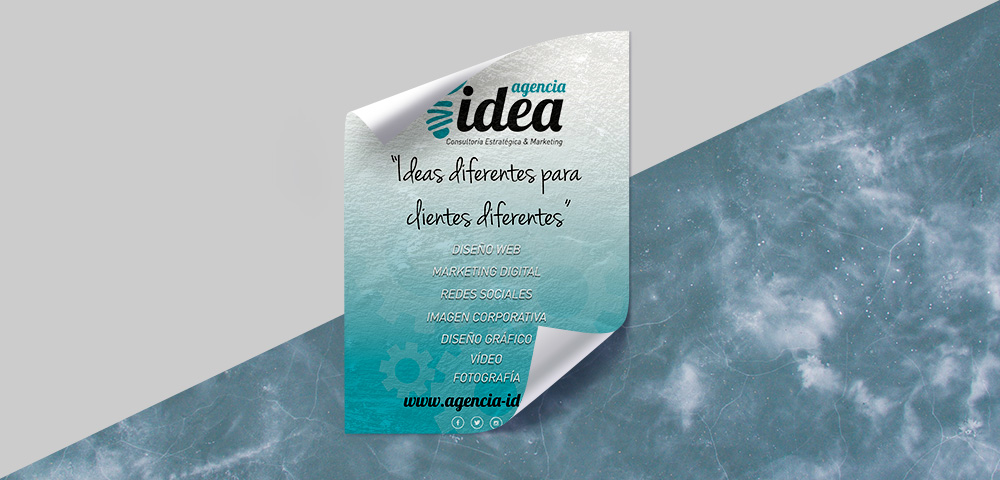 Cartel Agencia Idea