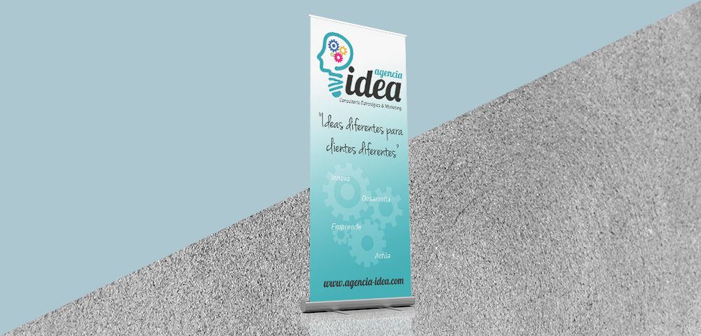 Roll Up Agencia Idea