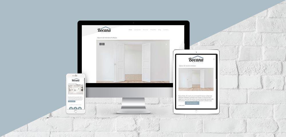 Página Web Bocana Obras