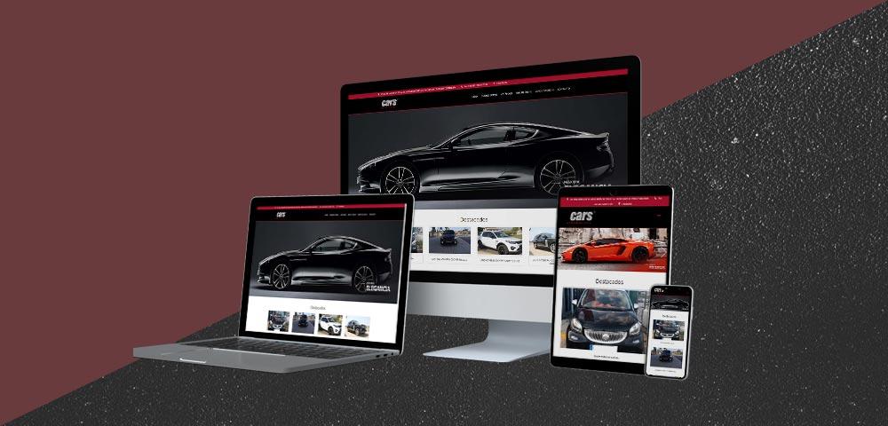 Página Web Cars Automóviles