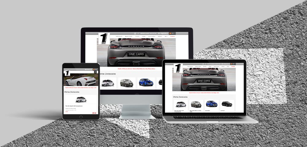 Página Web One Cars