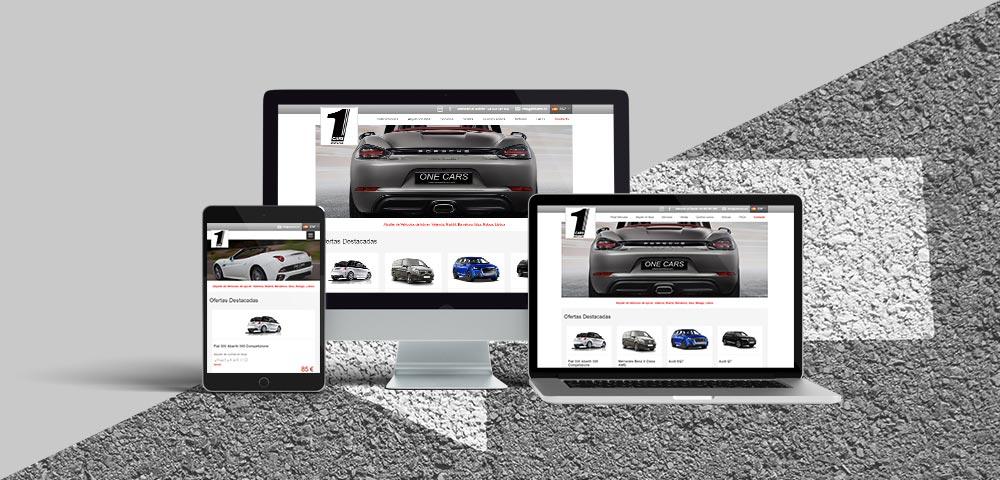Página Web One Cars