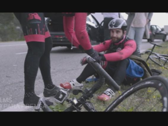 Dani Rovira en bici