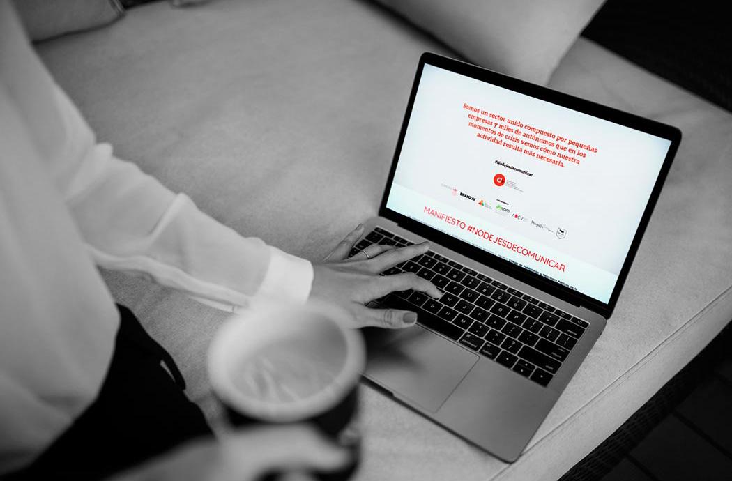 No dejes de comunicar - Marquistas Estudio Creativo